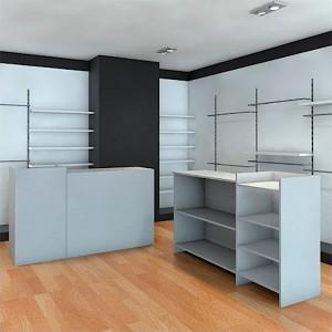 Pack de bureaux en bois 117 x 50 x 100 et 55 x 50 x 107