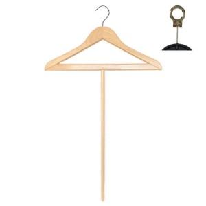 Beechwood hanger 45 cm. with handle 56 cm.
