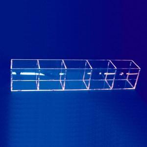 Aussteller Bleistift-Box mit 5 Löchern