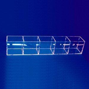 Expositor caja de lapices con 5 huecos