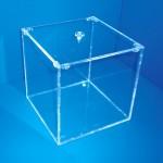 Expositor caja bombonera con tapa superior