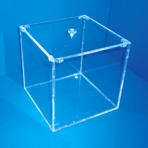 Aussteller-Box mit Deckel Pillbox