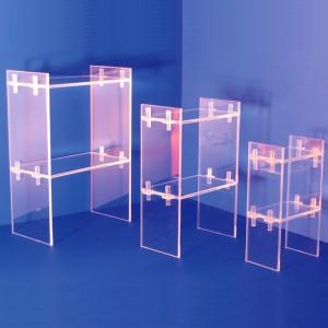 Expositor moble de 2 prestatges