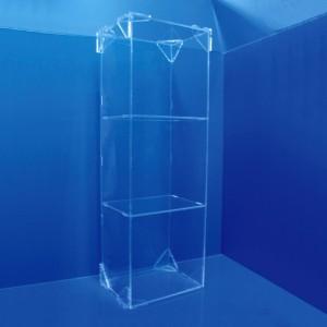 Expositor vitrina con baldas