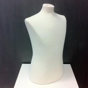Busto uomo per le cucitura o l'esposizione di abbigliamento