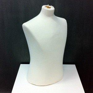 Bust curt d'home per costura o exposar roba