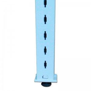 Columnas de hierro para estanterías y góndolas