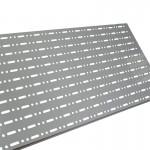 Panel perforado para estanterías y góndolas