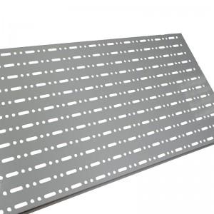Panell perforat per prestatgeries i góndoles