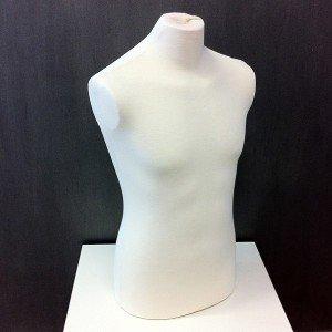Buste d'homme anatomique pour le couture ou exposer vêtements