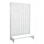 Steel mesh shelf