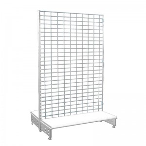 Gondola with steel mesh