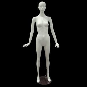 White matt lady mannequin mod. Tamara