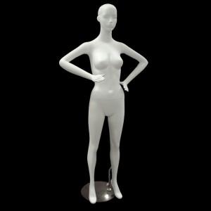 Mannequin dame matt blanche mod. Cristina