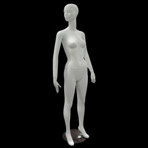 Mannequin dame matt blanche mod. Paula