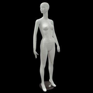 White matt lady mannequin mod. Paula