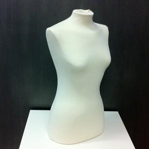 Busto donna per le cucitura o l'esposizione di abbigliamento