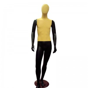 Black man mannequin with fabric without features mod. Marc