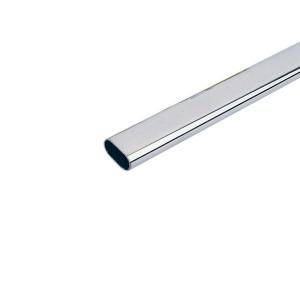 Tubo ovale lungo 3m.