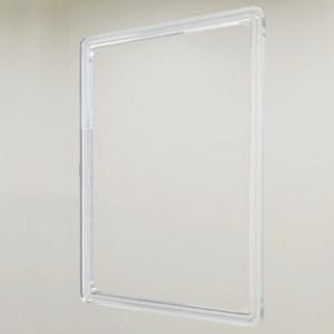 Porte-panneau en ABS transparent