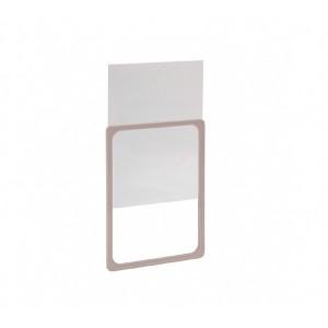 Insert en PVC transparent pour port-panneau