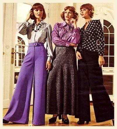 acortar encender un fuego cartel  Historia de la moda: la moda en los años 70