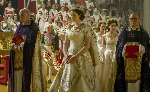 vestuario de The crown