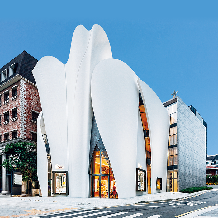 flagship de Dior en Seúl